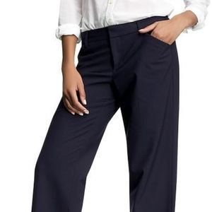 Gap Perfect Trouser NAVY PINSTRIPE
